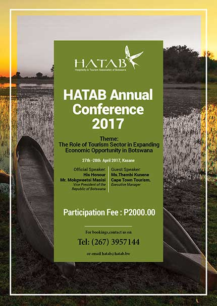 HATAB Annual Conference Advert 2017